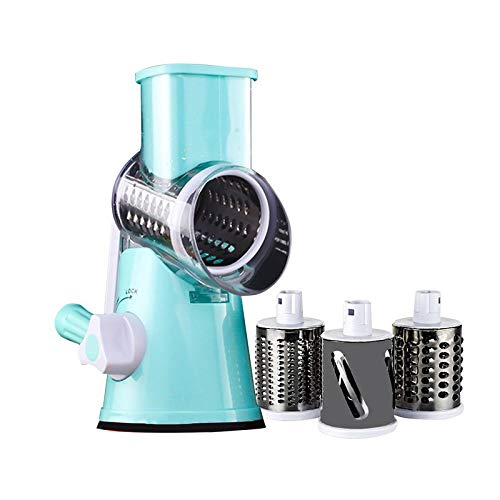 BianchiPatricia Vegetable Chopper Hand Roller Rotating Grater Suitable for...