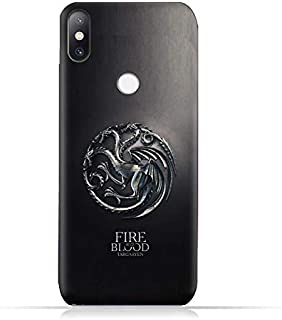 """Xiaomi Mi Mix 2S TPU Soft Protective Silicone Case with Targaryen - Game of Thrones Design"""