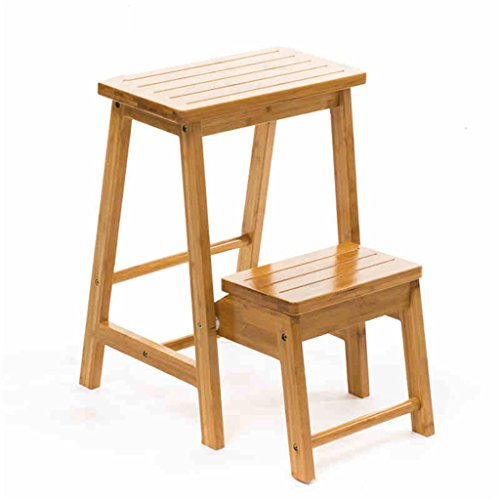 QFF Tablier pliant portable Tabouret pliant Tabouret pliable Tabouret élévateur Chaise pliante à double usage Accueil Escalier