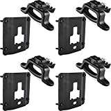 BUCKHORN 4PCS Compatible with Tie Down Anchors 2015 2016 2017 2018 2019 2020 Ford F150 F250 F350 Replacement for Truck Bed Tie Down Brackets Cargo Fixed Anti-Theft Deduction