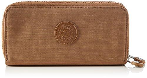 Kipling Damen UZARIO Geldbörse, Braun (Dazz Tobacco C), 10x18.5x3.5 cm