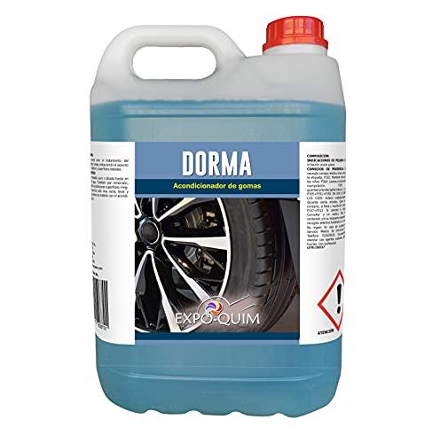 EXPOQUIM Dorma - Acondicionador Protector de Neumáticos y Gomas (5 L)