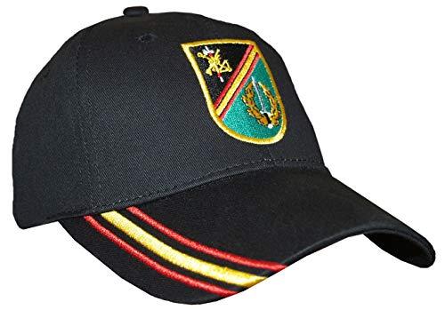Tacro Gorra BOEL Brigada de Operaciones Especiales de la Legión Negra Ejército Español Adulto Unisex Negra Ajustable