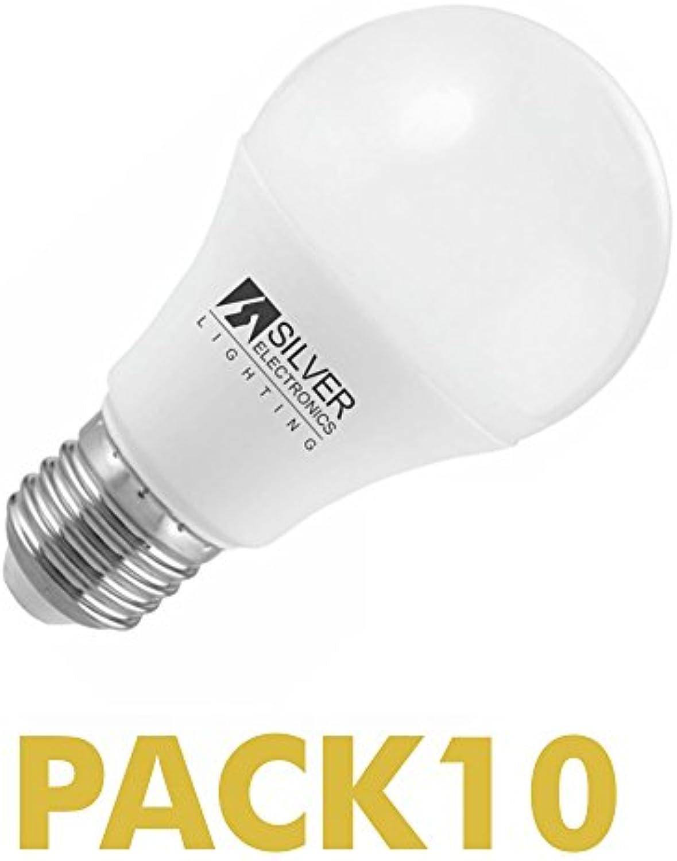 Pack 10Stück LED ECO Standard 10W E273000K