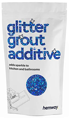 Hemway | Glitter Grout Additive - Sapphire Blue Holographic / 100g