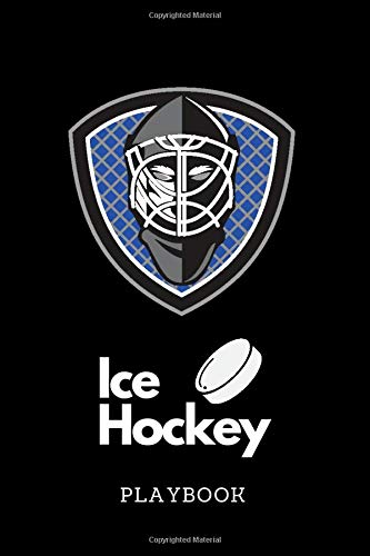 Ice Hockey Playbook : Blank Ice Hockey Field Diagram for Palyers and Coaches: Ice Hockey Playbook Template 6