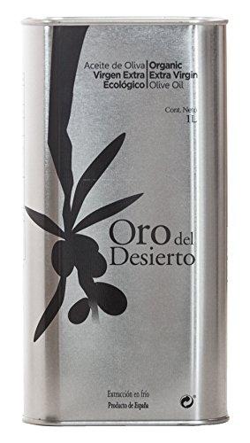 New nov 2015raccolto. Bbe 2017oro del Desierto 100% extra vergine organico olio d' oliva