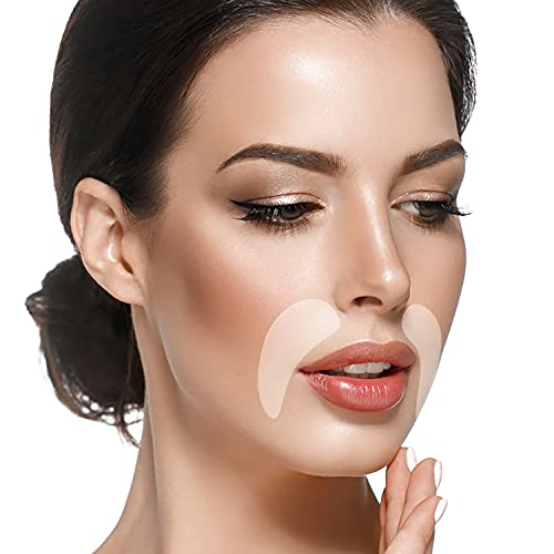 Blumbody Face Wrinkle Patches - 100 Smile Line Patches - Anti Wrinkle...