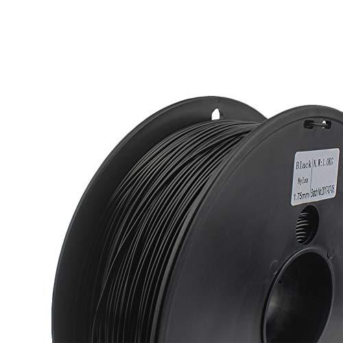 Filament 1.75mm 0.03 Mm Choice 3d Nylon Black White Color 3d Filament Nylon 1 Kg 3D Printer Parts XXYHYQHJD (Color : 3mm 1KG white, Size : Free)