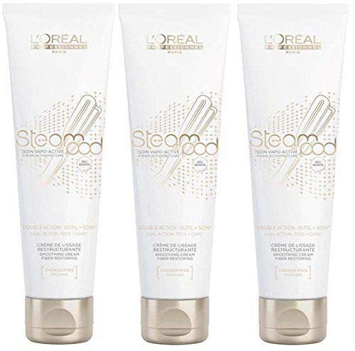 3 x Loreal Steampod Creme 150 ml