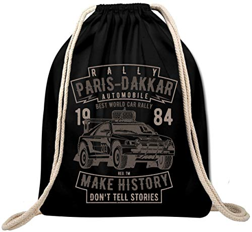 Ekate Mochila de deporte Rally Paris Dakar Automotive, para carreras de coches Course de Voitures, mochila de gimnasio