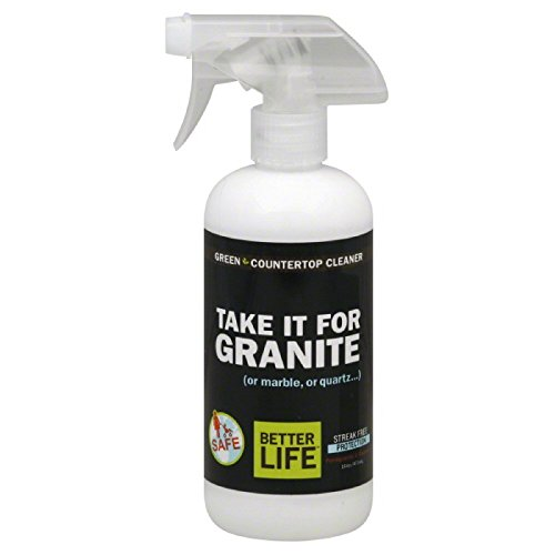 Better Life 895454002102 Naturally Stunning Granite & Stone Cleaner Pomegranate Grapefruit 16oz Btl