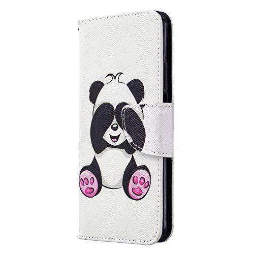 Tosim Huawei nova 5T / Honor 20 Hülle Klappbar Leder, Brieftasche Handyhülle Klapphülle mit Kartenhalter Stossfest Lederhülle für Huawei nova 5T - TOBFE180152#4
