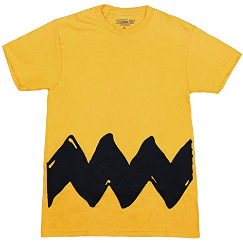 Peanuts Charlie Brown Costume T-Shirt-Small