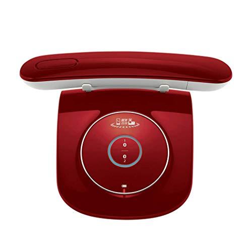 Teléfono LCSHAN Retro Vintage inalámbrico Fijo Conveniente