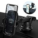Mpow Dashboard Car Mount Holder, Stable Windshield/Desk Car Phone Holder, 2 Suction Levels