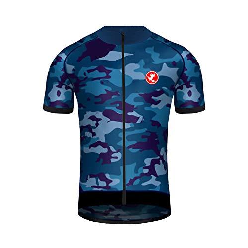 Uglyfrog Magliette Jersey Speciali Pattern Quick Dry, Abbigliamento Sportivo da Ciclismo a Maniche Corte in Poliestere per Uomo della Squadra Professionale,t-Shirt da Jersey per Bici da Bicicletta