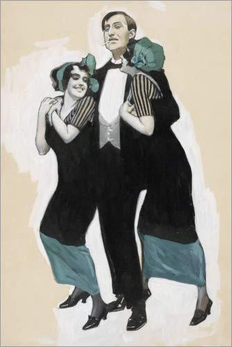 Posterlounge Cuadro de metacrilato 60 x 90 cm: Munich Carnival de Brynolf Wennerberg