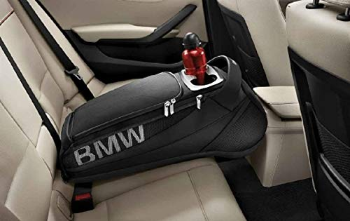Original BMW-Rücksitzfach 52212303027, Aufbewahrungstasche, Schwarz