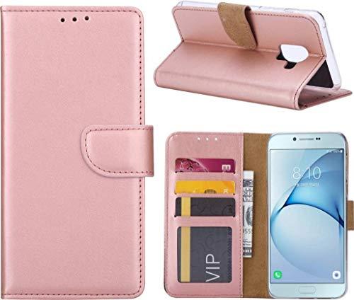 Samsung Galaxy A5 2017 Portemonnee hoesje Book case Rose Goud