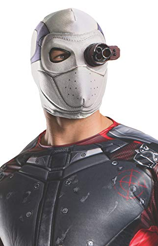 Rubie's mens Suicide Squad Deadshot Costume Mask, Fabric, One Size US