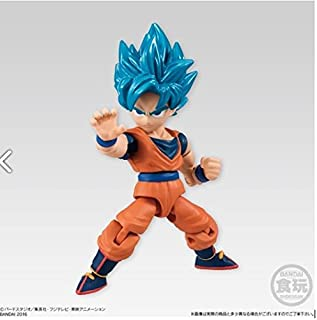 Dragon Ball Super 66 Action Dash Super Saiyan Goku SSGSS Character Mini Action Toy Figure approx. 66mm / 2.6