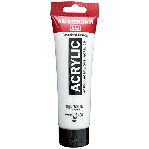 Amsterdam Acrylique couleur 120ml tube ZINC Blanc