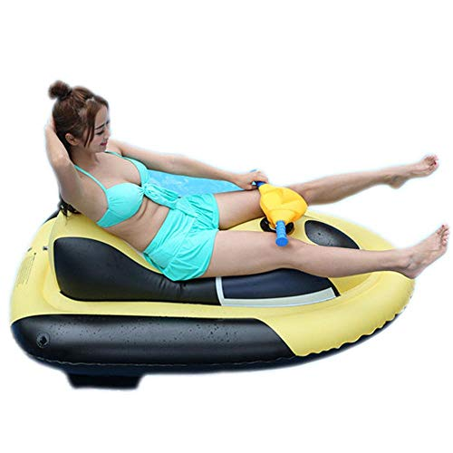 ZBNMGHFT Inflatable Motorboat Adult Island Surfing Floating Drainage On The Toy Canoe Thickened PVC Material Suitable For Various Water Sports 140×85cm