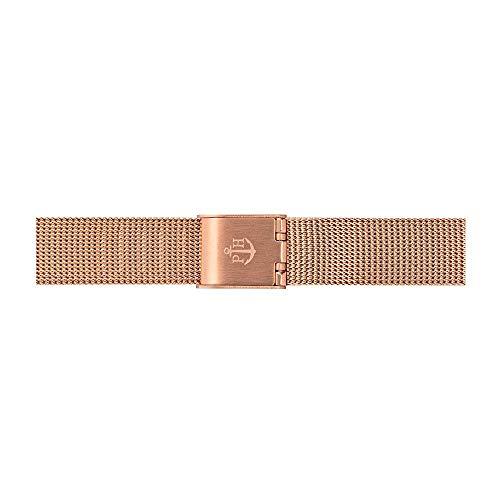 PAUL HEWITT Uhrenarmband Damen Sailor Line Modest, Mesh IP Roségold 12 mm