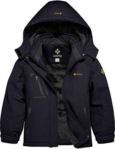 GEMYSE Girl's Mountain Waterproof Ski Jacket Windproof Fleece Outdoor...