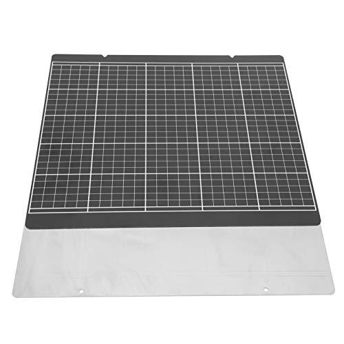 Printer Gold Sticker Hot Bed Platform 3D Printer Accessories Eco-friendly Flexible Black Grid High Safety 3D Printer Sticker Kit for Prusa i3 MK52 10 x 9.5in