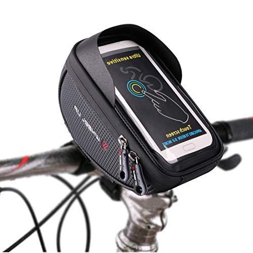 Selighting Bolsa Bicicleta Manillar Impermeable Bolsa