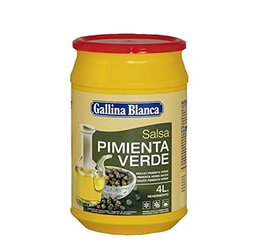 SALSA PIMIENTA VERDE GALLINA BLANCA BOTE 600 GR