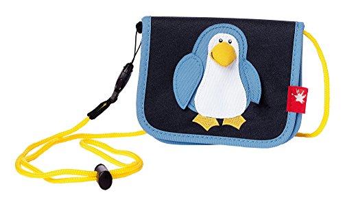 sigikid, Jungen, Brustbeutel, Pinguin, Schwarz/Blau, 24648