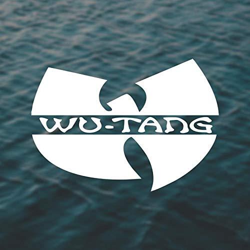 Wu-Tang Wu-Tang Calcomanía WuTang Wu-Tang Clan Rap Calcomanía de Hip Hop, calcomanía para amantes de la rap hop