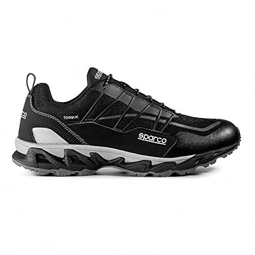 Sparco 00128945NRNR, Zapatillas para Correr de Diferentes Deportes Unisex Adulto, Articulo, 45...