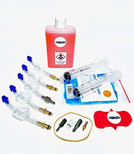 TBS Kit de purge de frein hydraulique universel avec huile minérale Shimano
