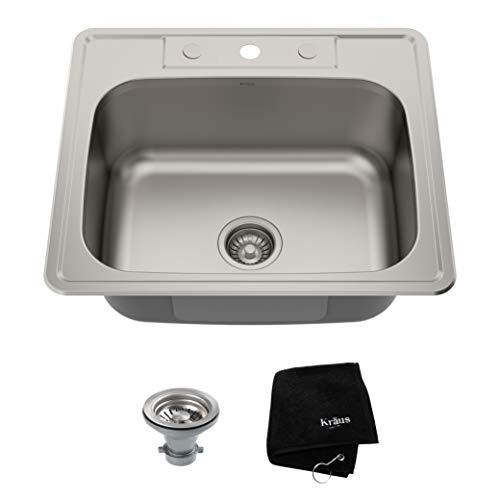 Kraus KTM25 gauge Stainless Steel Kitchen Sink