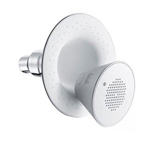 Musik Top-Spray ABS-Harz Runde Musik-Dusche Bluetooth-Verbindung Wireless-Spiel 12,7 cm Panel Wasser Heizung Bad Dusche Badezimmer Zubehör
