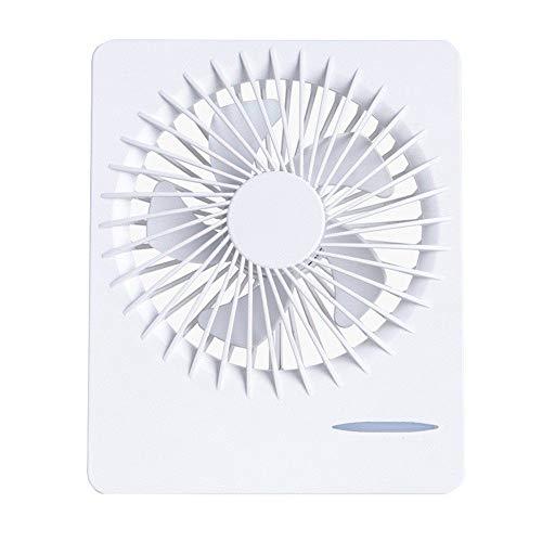 JZUKU Ventilador de Mano La Carga De Escritorio USB Ventilador Portátil Oficina De Refrigeración Silencioso Ventilador De Estudiantes De Carga Pequeño Ventilador