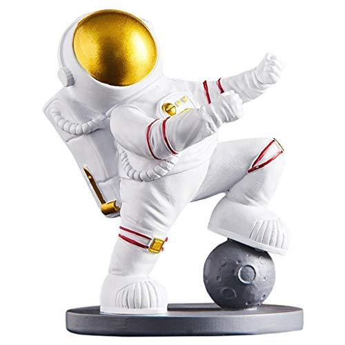 Escultura de La Estatua del Astronauta de La Resina de La Pieza Central de La Encimera del Sostenedor de La Botella de Vino de - Estilo, Individual