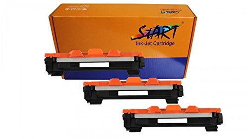 Start - 3 XL vervangende toner compatibel met Brother TN-1050, zwart