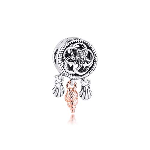 Diy 925 Colgante De Pandora Se Adapta A Pulsera Calado Concha De Mar Encanto Atrapasueños Para Hacer Joyas Encantos De Plata Original Cuenta