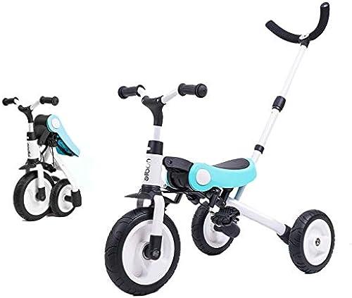 Kinder-Dreirad leicht faltbares Babyfahrrad, vielseitige hochfeste Aluminiumlegierung