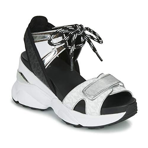 MICHAEL MICHAEL KORS IRMA Sneakers dames Wit/Zwart/Zilver Lage sneakers