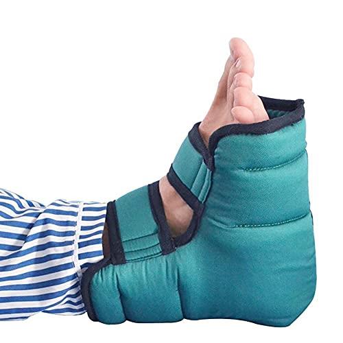 Protectores De Cojín para El Talón,Soporte de Tobillo Anti decúbito, protección del talón Almohadilla del talón Protector del talón decúbito para Pacientes de Edad Avanzada Envoltura del pie