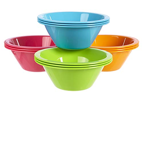 Harmony Cereal and Snack Bowls | set of 12 in 4 Calypso Colors