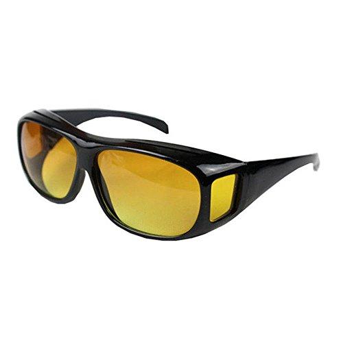 Kontrast-Brille Night Vision auch fuer Brillentraeger (Nachtfahrbrille)