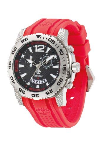 Timberland Herren-Armbanduhr XL HYDROCLIMB Analog Kautschuk TBL13319JS-02B