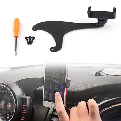 Artudatech 360°Rotation Car Phone Mount Cradle Holder Stand Kit for Mini Cooper F60